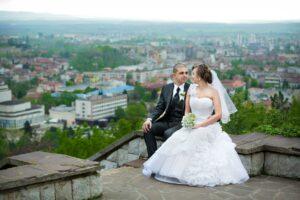 Brautpaar bei Shooting